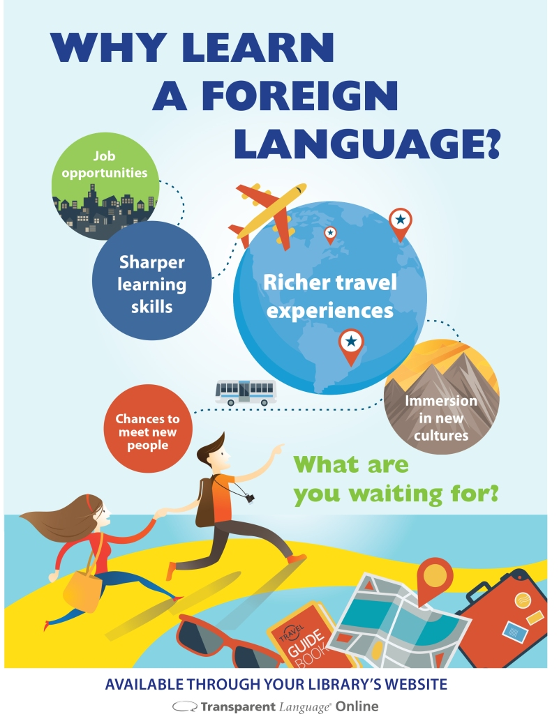 a personal story on learning a foreign language Knowing and using a foreign language is important in this day in age and one should learn a foreign language if he/she isn't learning one already.