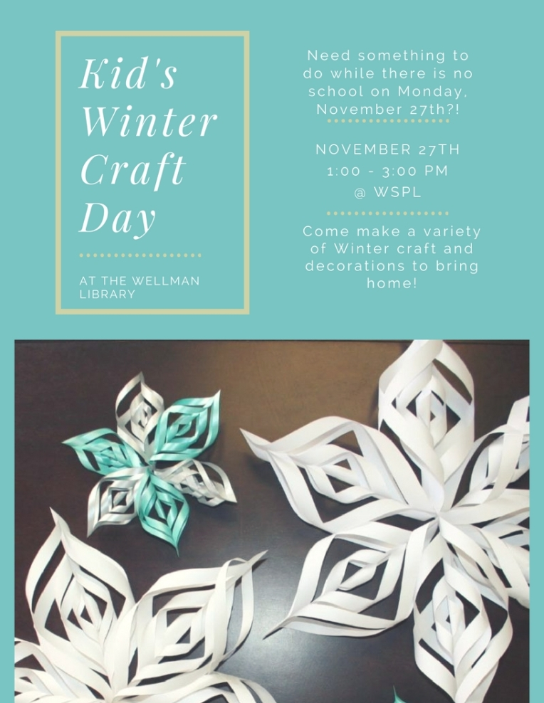 Kid's WinterCraftDay