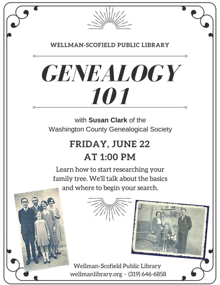 genealogy 101