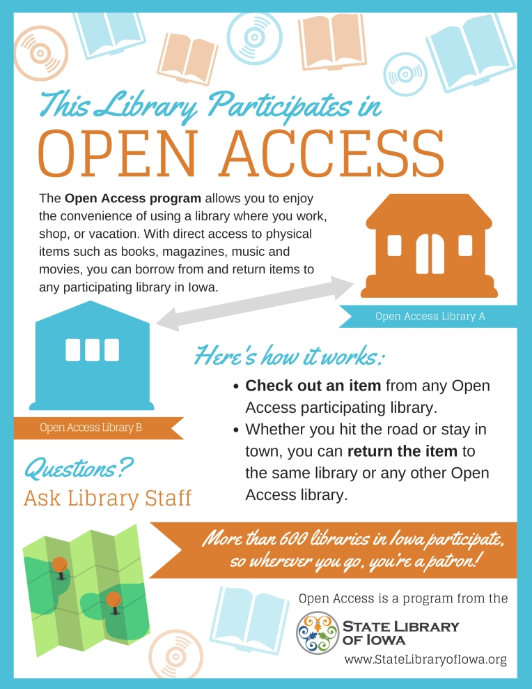 11.2016 Open Access Promotional Flyer