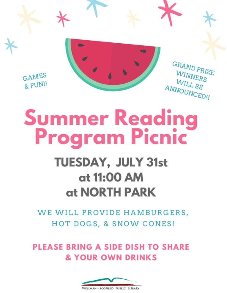 Summer Reading Program Picnic