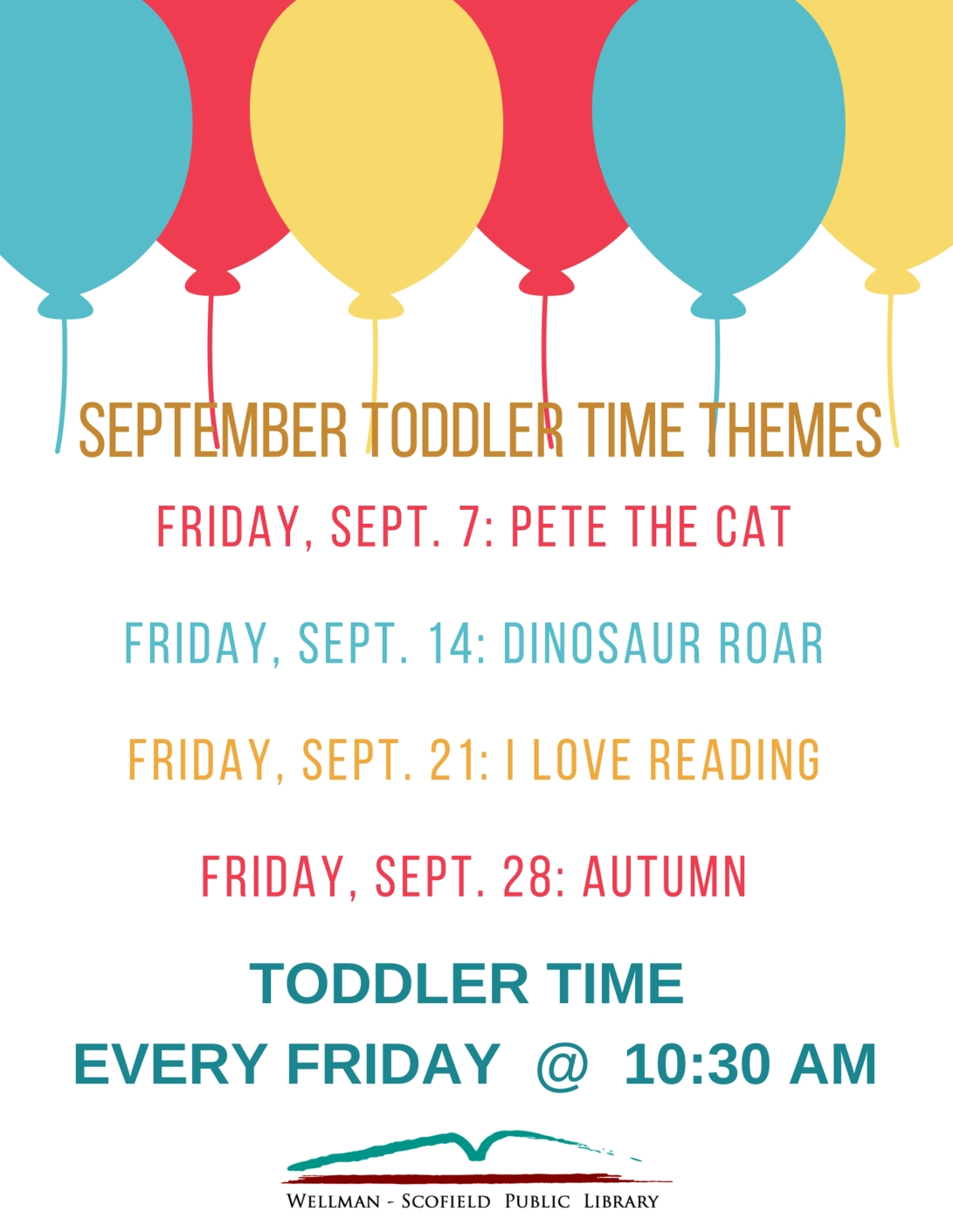 May toddler time themes
